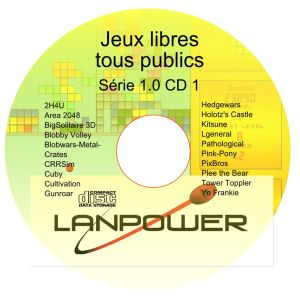 LanPower Games CD série 1 CD1